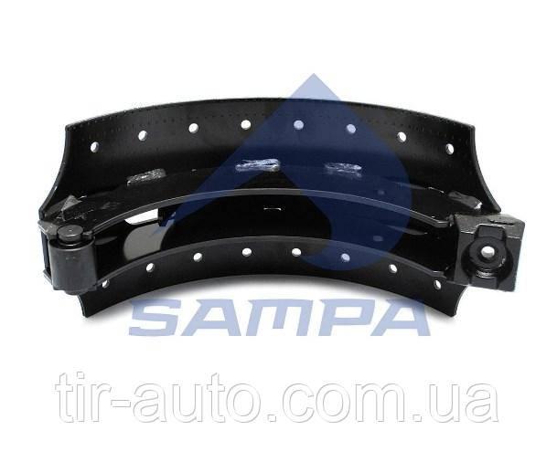 Тормозные колодки, барабанные, SAF, 420x180 mm ( SAMPA )