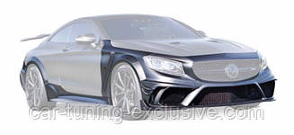 MANSORY Wide  body BLACK EDITION for Mercedes S63 AMG Coupe / Cabrio