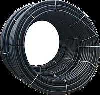 Труба поліетиленова для води 90х8,2мм бухта 100м ПЕ100 SDR11 16 атм харчова, фото 1