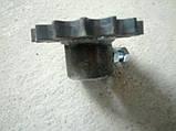 Звездочка привода редуктора садовой  косилки - измельчителя Warka . MCMS., фото 2