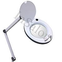 Лампа-лупа6014-8 64SMDLED5D 2 цвета1-12Wс регулировкой яркости «холодного» и «теплого» света