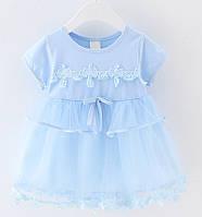 Платье для маленькой девочки размер 80.