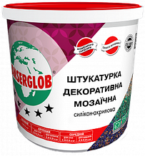 Мозаичная штукатурка акриловая Anserglob  25кг цвет (G,GN, PG, PGN)