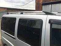 Рейлинги Fiat Doblo ХРОМ короткая база, Фиат Добло, фото 1