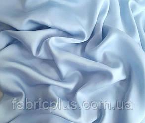 Сатин (хлопковая ткань) светло-голубой