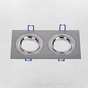 Точечный врезной светильник (модель 47-1235-2 SS )
