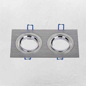 Точковий світильник врізний (модель 47-1235-2 SS )