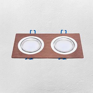 Точечный врезной светильник (модель 47-1235-2 СOF )