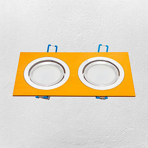 Точечный врезной светильник (модель 47-1235-2 GD )
