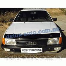 Мухобойка на капот AUDI 100 44кузов С3 1983-1991 Дефлектор капота на Ауди 100 С3 1983-1991