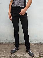 Джинсы мужские KONICA зауженные демисезон  черный, фото 1