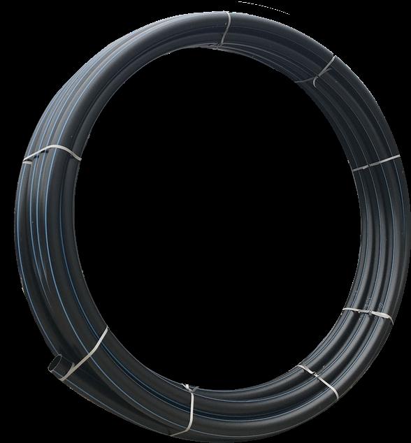 Труба полиэтиленовая для воды 110х10мм бухта 100 м ПЭ100 SDR11 16атм