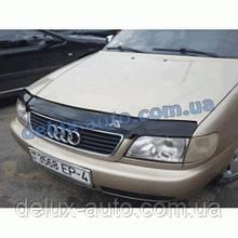 Мухобойка на капот AUDI 100 45кузов С4 1990-1994 Дефлектор капота на Ауди 100 С4 1990-1994 45 кузов