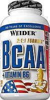 Аминокислоты WEIDER BCAA 2:1:1 260 таблеток