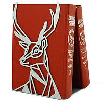 Металлический упор для книг Glozis Deer, фото 1