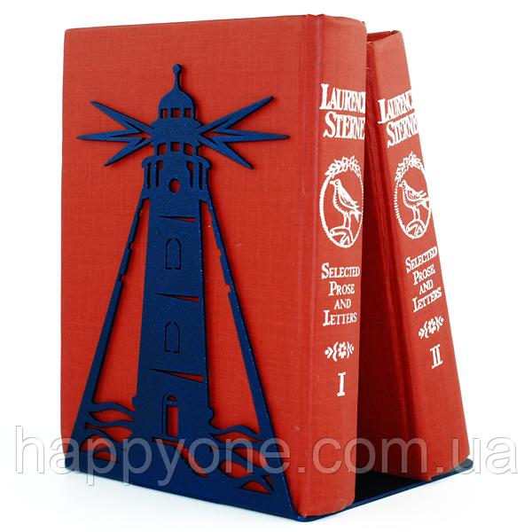 Металлический упор для книг Glozis Lighthouse