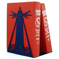 Металлический упор для книг Glozis Lighthouse, фото 1
