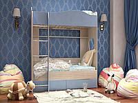 Двухъярусная детская кровать Симба 1,9х0,8