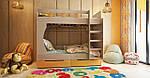Двухъярусная детская кровать Марли 1,9х0,8, фото 3