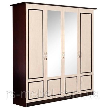 """Шкаф 4Д """"Ким - венге"""" (Світ Меблів)"""