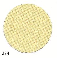 Zweigart(Lugano) Лугана 25ct - жовта