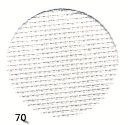Тканина Zweigart (Stramin) Страмін (канва) 18 ct біла