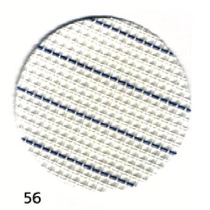 Тканина Zweigart (Stramin) Страмін з розміткою 14 ct біла