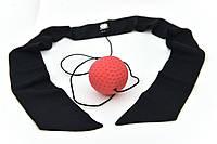 Мяч для бокса Fight Ball puncher тренажер универсальный (с повязкой), фото 1