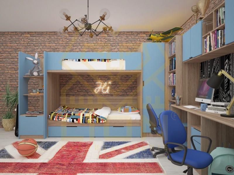 Детская мебель Джуниор (Лион)