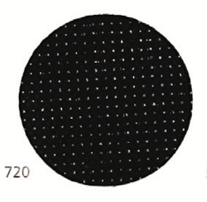 Тканина Zweigart (Aida) Аіда 14 ct - чорна