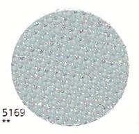 Тканина Zweigart (Aida) Аіда 14 ct - блакитна з люрексом