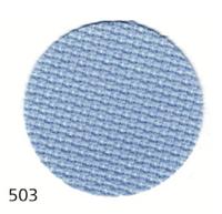Тканина Zweigart (Aida) Аіда 16 ct - блакитна