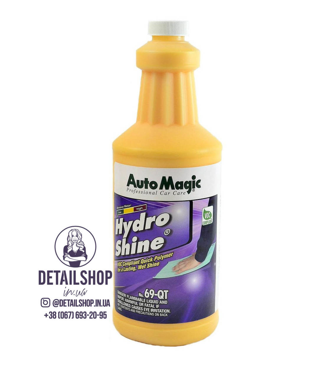 Auto Magic Hydro Shine 69-QT полимер-консервант