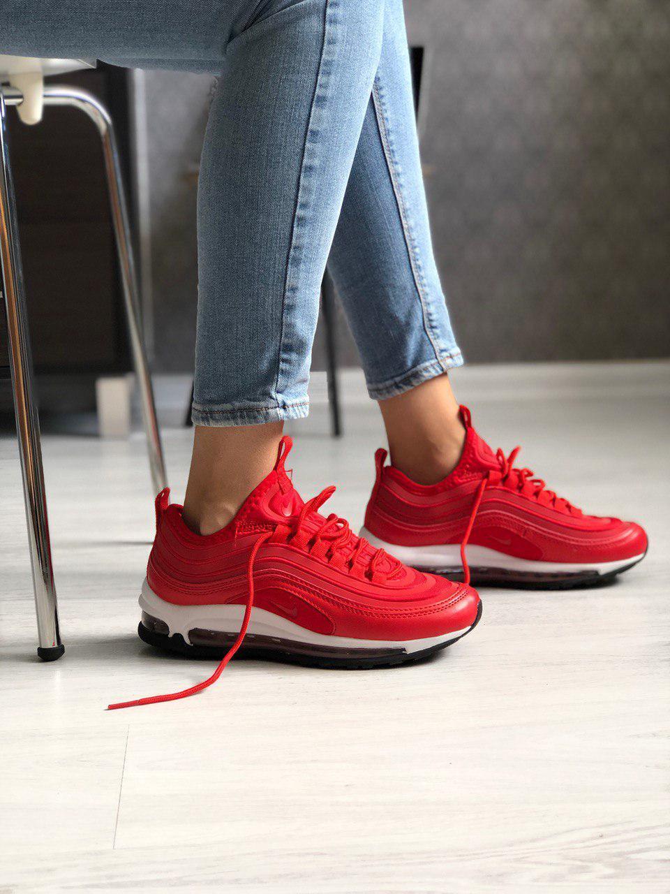 Женские кроссовки Nike Air Max 97 Ultra из натуральной кожи и текстиля, 5 цветов