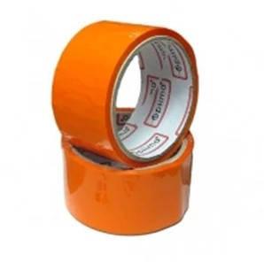 Лента клейкая упаковочная оранжевая 48*30