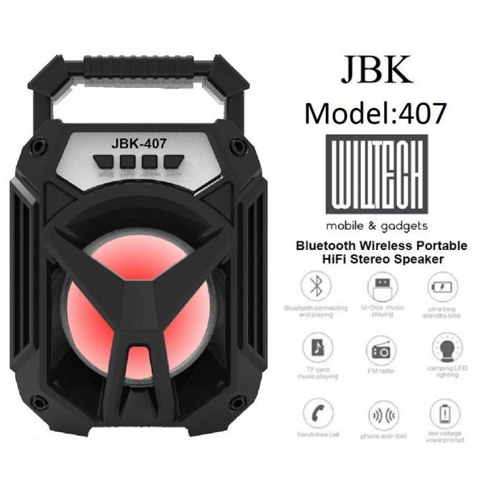 Портативная Мобильная колонка JBK-407 BT Bluetooth ( 88288 )