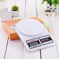 Электронные Кухонные Весы 7 кг MKS - 400 + Батарейки ( 88288 )