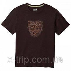 Футболка мужская Smartwool Men's Merino 150 Le Tigre Tee Sumatra Brown, S