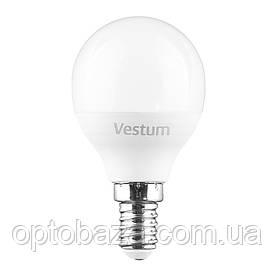 LED Лампа Vestum G45 6W 4100K 220V E14