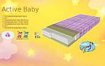Ортопедический детский матрас  Active Baby 60х120 см. Herbalis Kids, фото 4