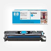 Картридж HP Q3961A (122A) cyan для принтера НР CLJ 2550, 2820, 2840 (Евро картридж)