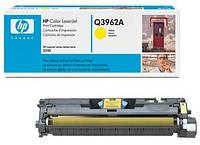 Картридж HP Q3962A (122A) yellow для принтера НР CLJ 2550, 2820, 2840 (Евро картридж)