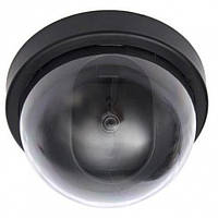 Купольная камера видеонаблюдения обманка