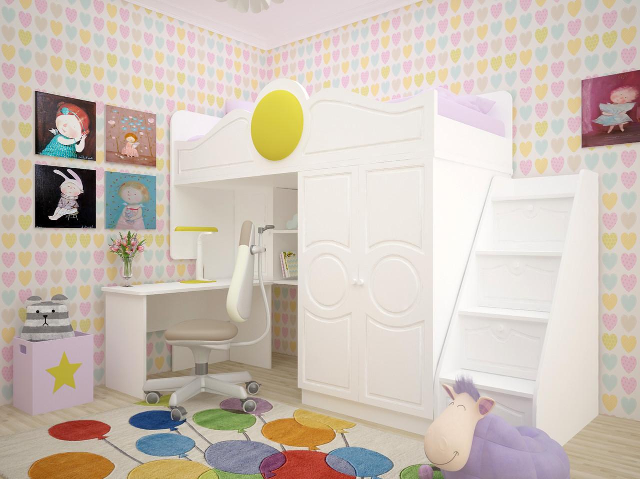 Дитяче ліжко Престиж 2 1,9х0,8