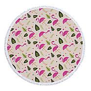 """Пляжный коврик """"Летний Фламинго"""" (155 см), фото 2"""