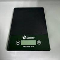 Электронные сенсорные кухонные весы на 5 кг Domotec MS-912 черные ( 88288 )