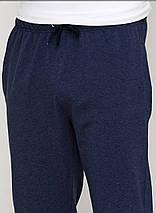 Шорти чоловічі стильні темно синій меланж, фото 2
