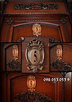 Номерки Дверные Резные деревянные.