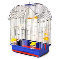 """Клітка для птахів """"Віола"""", цинк, 470х300х660"""