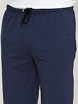 Шорти чоловічі стильні темно синій меланж, фото 3